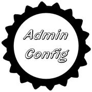 Администрирование конфигов через веб-интерфейс (Admin config)