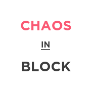 Журнал - Сhaos to Block